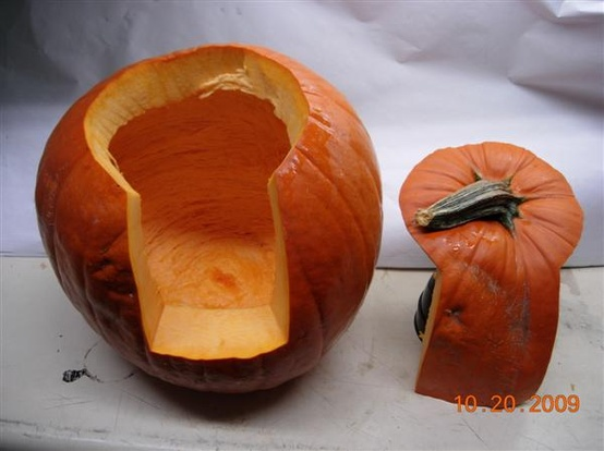 Better way to carve a pumpkin