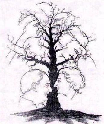 How many faces can you see?