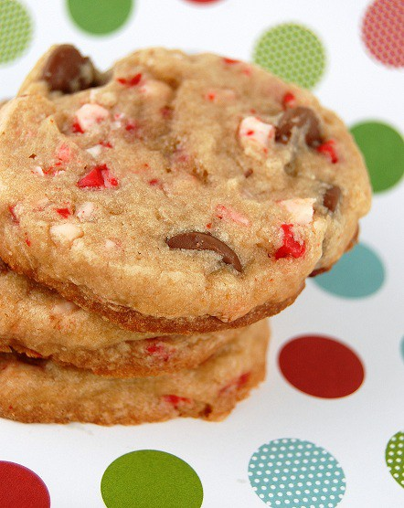 chocolate peppermint sable cookies aka ninjabread cookies peppermint ...