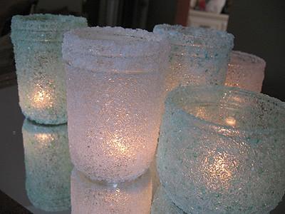 Epsom Salt Mason Jars