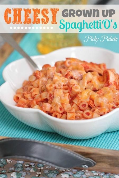 Cheesy Grown Up SpaghettiOApplePins.com