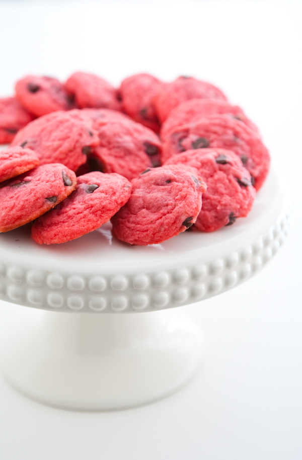 Chocolate Raspberry Cookies