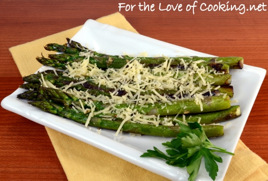 how to cook asparagus in pan with olive oil
