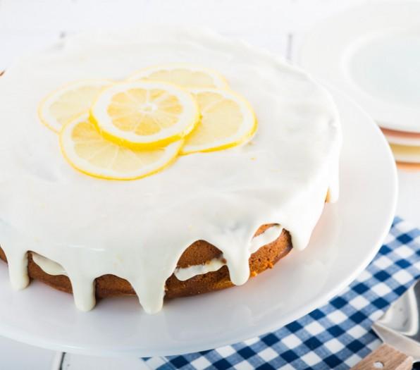 Gluten-Free Luscious Lemon Layer Cake