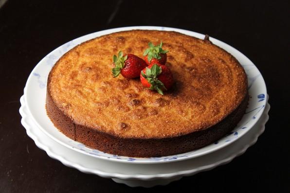 Grapefruit Cake - gluten free & dairy freeApplePins.com