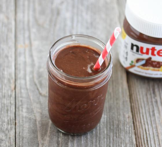 Nutella Banana MilkshakeApplePins.com
