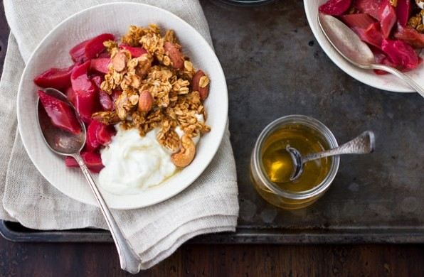 Rum-Kissed Coconut Granola