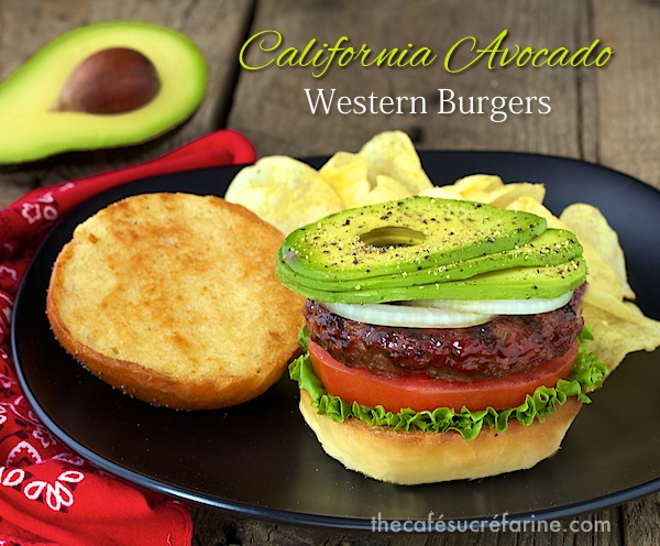 California Avocado Western Burgers