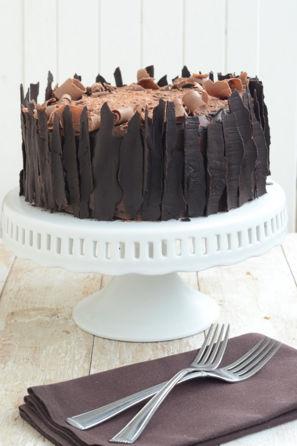 Devil's Food Cake With Milk Chocolate Frosting Recipe — Dishmaps