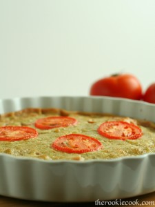 Guest Post-Tomato Pesto Tart