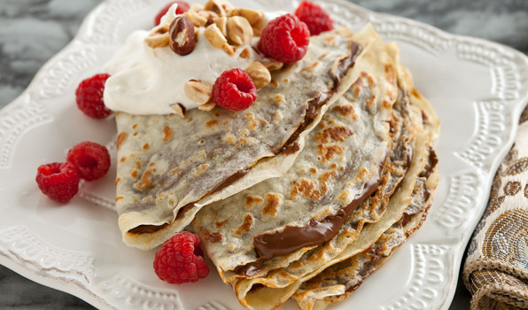Chocolate Hazelnut Crêpes