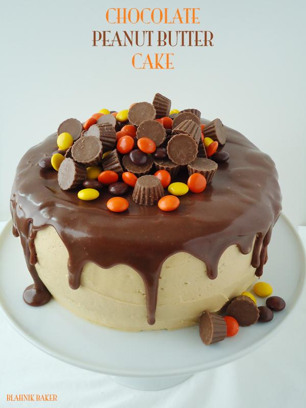 Chocolate Peanut Butter Cake