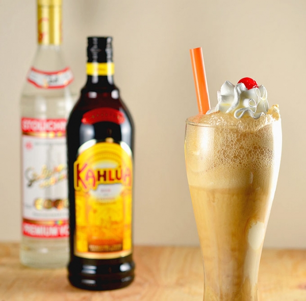 New Years Eve Russian Root Beer Float