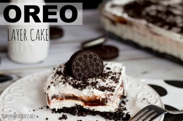 Unbelievable Oreo Layer Cake Recipe YUMM!