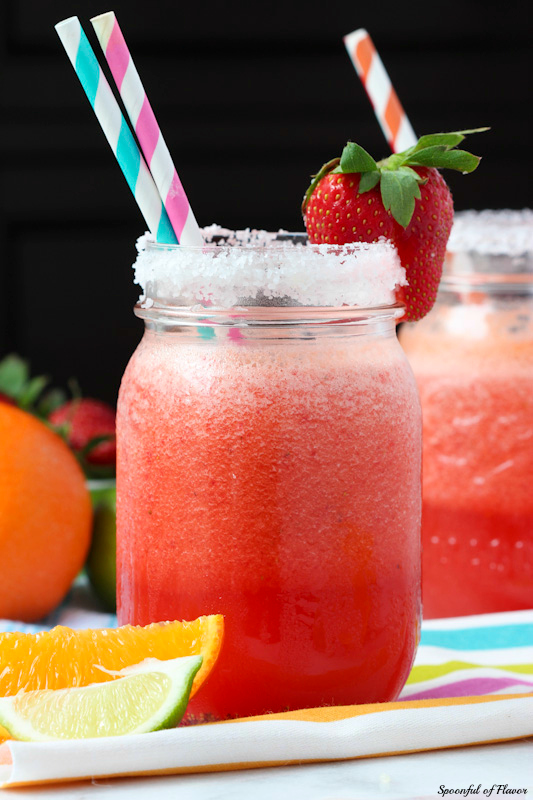 Special Mothers Day Strawberry Margarita Recipe