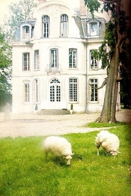French chateau in Normandy, built ca. 1765