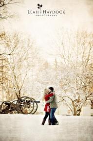 Snow love.