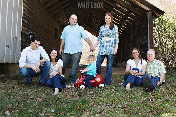 family at the farm