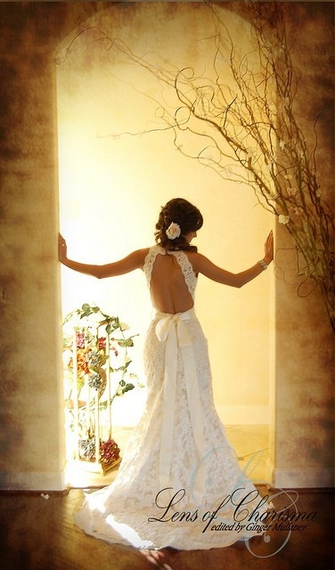 Love the lace and Love the back!
