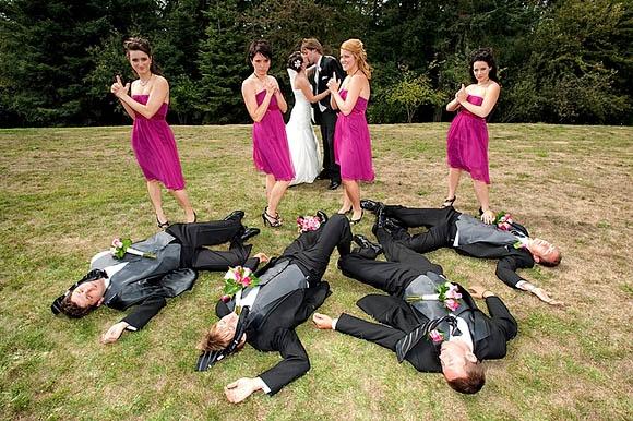 Too Funny Wedding Photo Idea