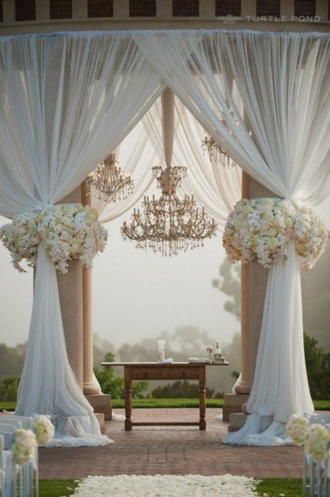 Stunning backdrop for that special day I Do !!!