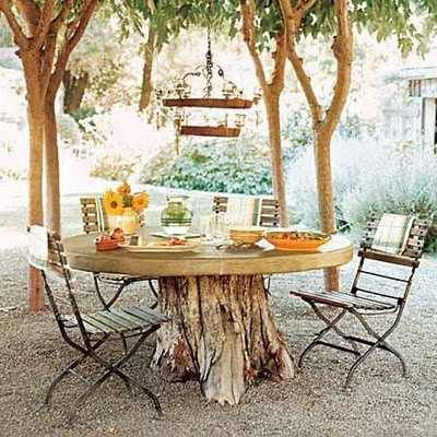 Chandelier for the outdoors