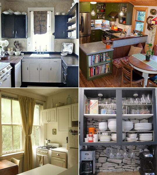Gorgeous small kitchens