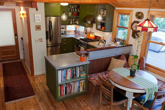 Small cool kitchen