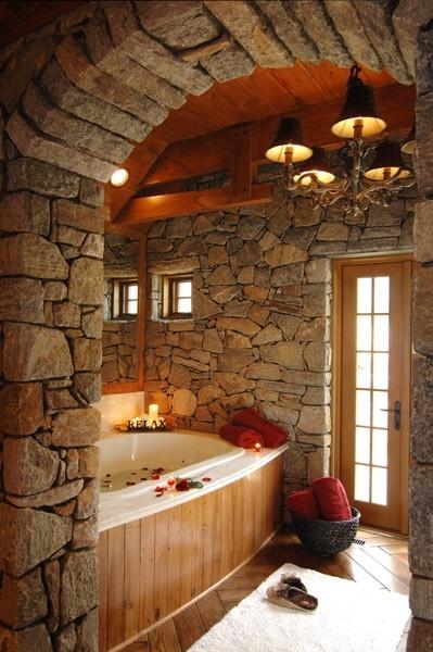 This bathroom looks magical!