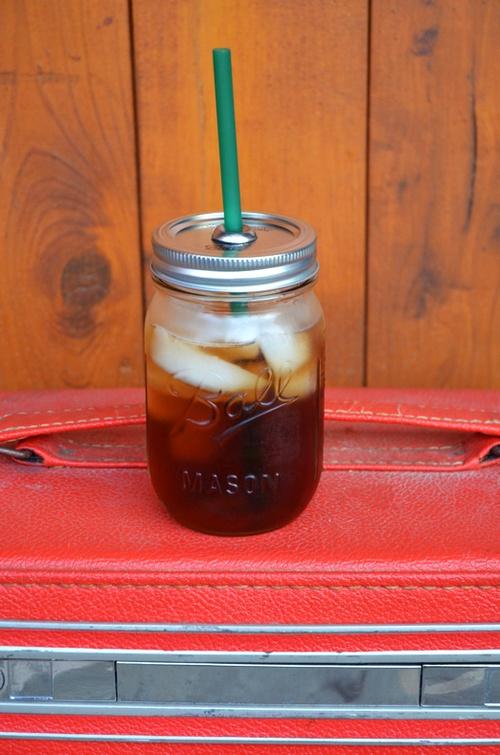 DIY: Mason Jar To-Go Cup