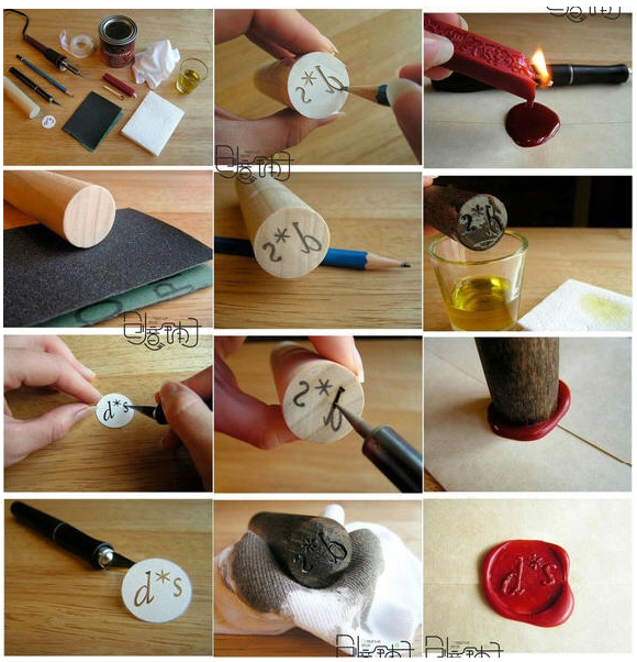How to make a traditional wax envelope seal