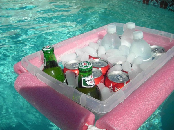 DIY Floating Pool Cooler