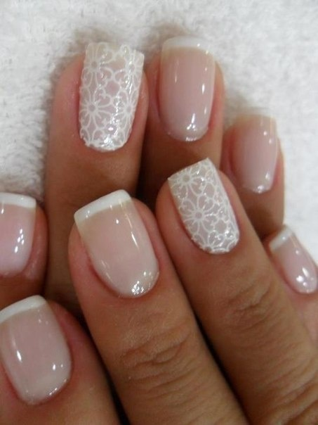The perfect wedding nails