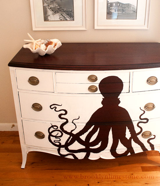 Upcycle From the Deep: A dresser transformed
