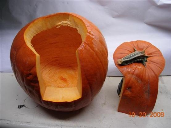 Better way to carve a pumpkin
