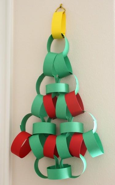 Chain Christmas Tree