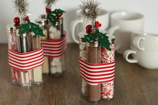 Christmas hot chocolate kits