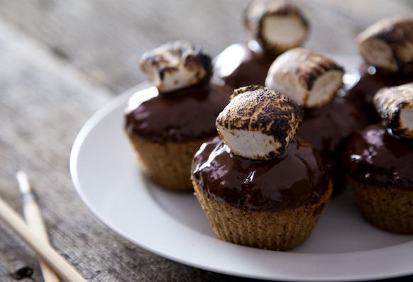 S'mores Cupcakes