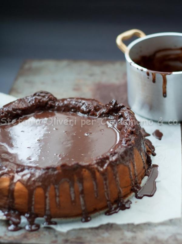 Chocolate cake and marsala