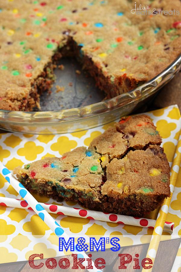 Rainbow Cookie Pie Unbelievably Delicious