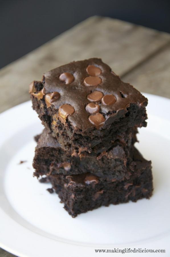 Extra Moist Chocolate Brownies OMG