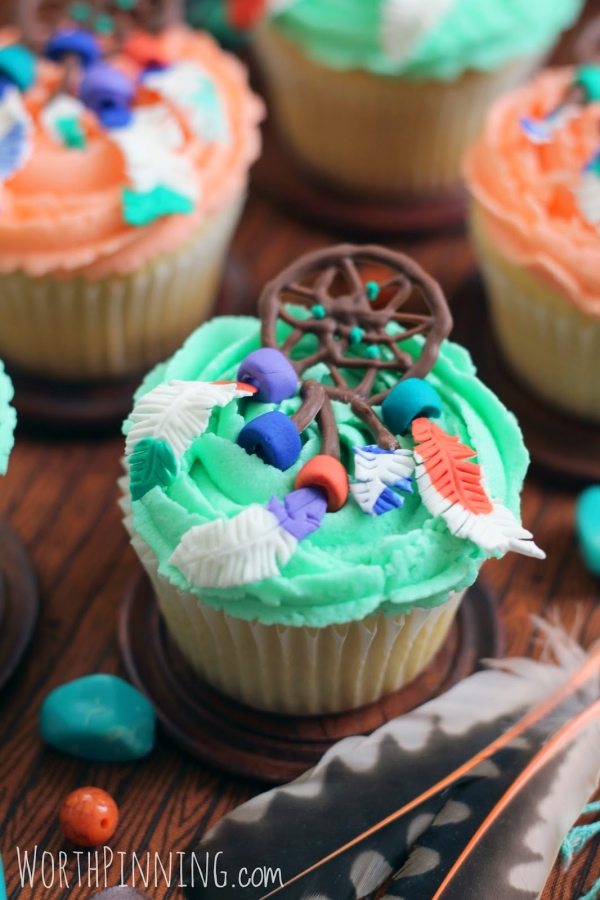 DREAM CATCHER Cupcakes like cupcakes are not dreamy enough!