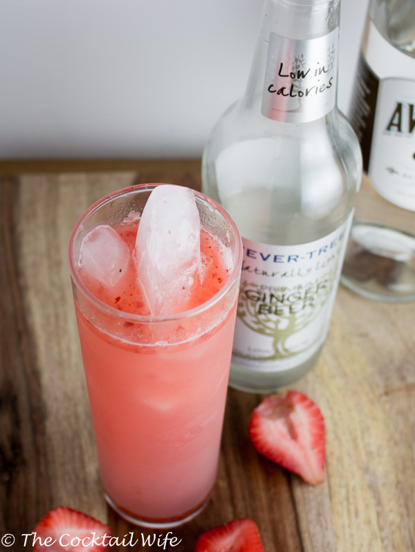 The Strawberry Cocktail Smash YUM!
