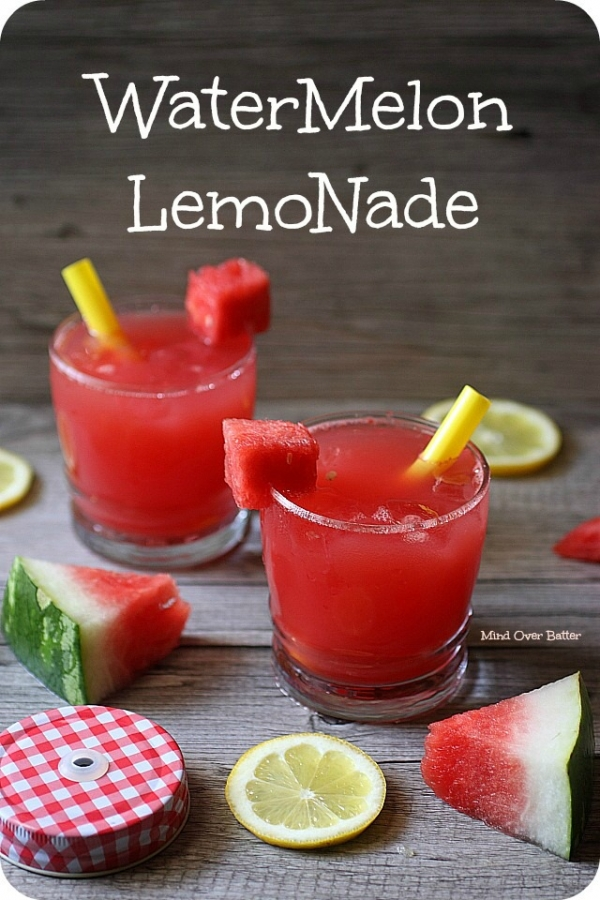 Amazing Summer Watermelon Lemonade Cocktail Recipe