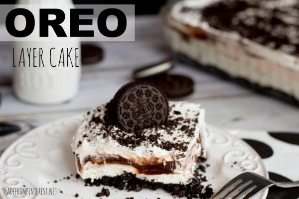 Unbelievable Oreo Layer Cake Recipe YUMM!