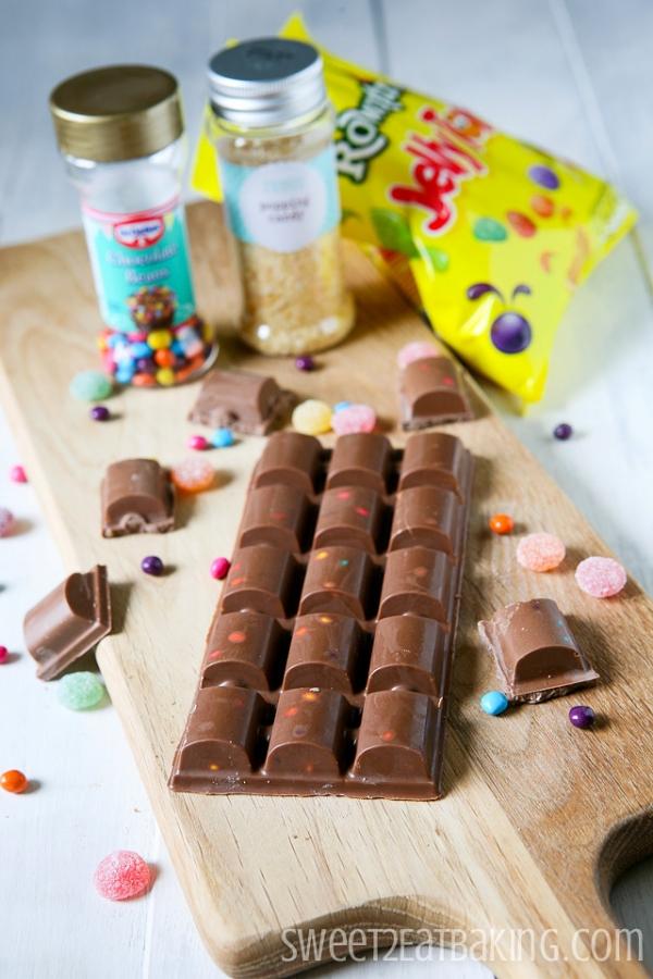 Cadbury's Dairy Milk Candy Creations Recipe