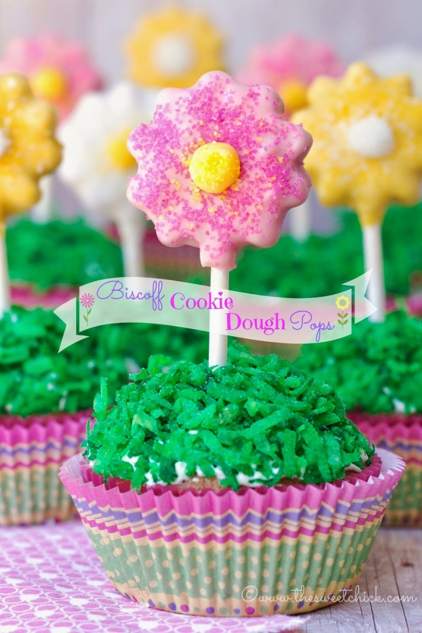 Special Mothers Day Cupcake Pops YUM!!!